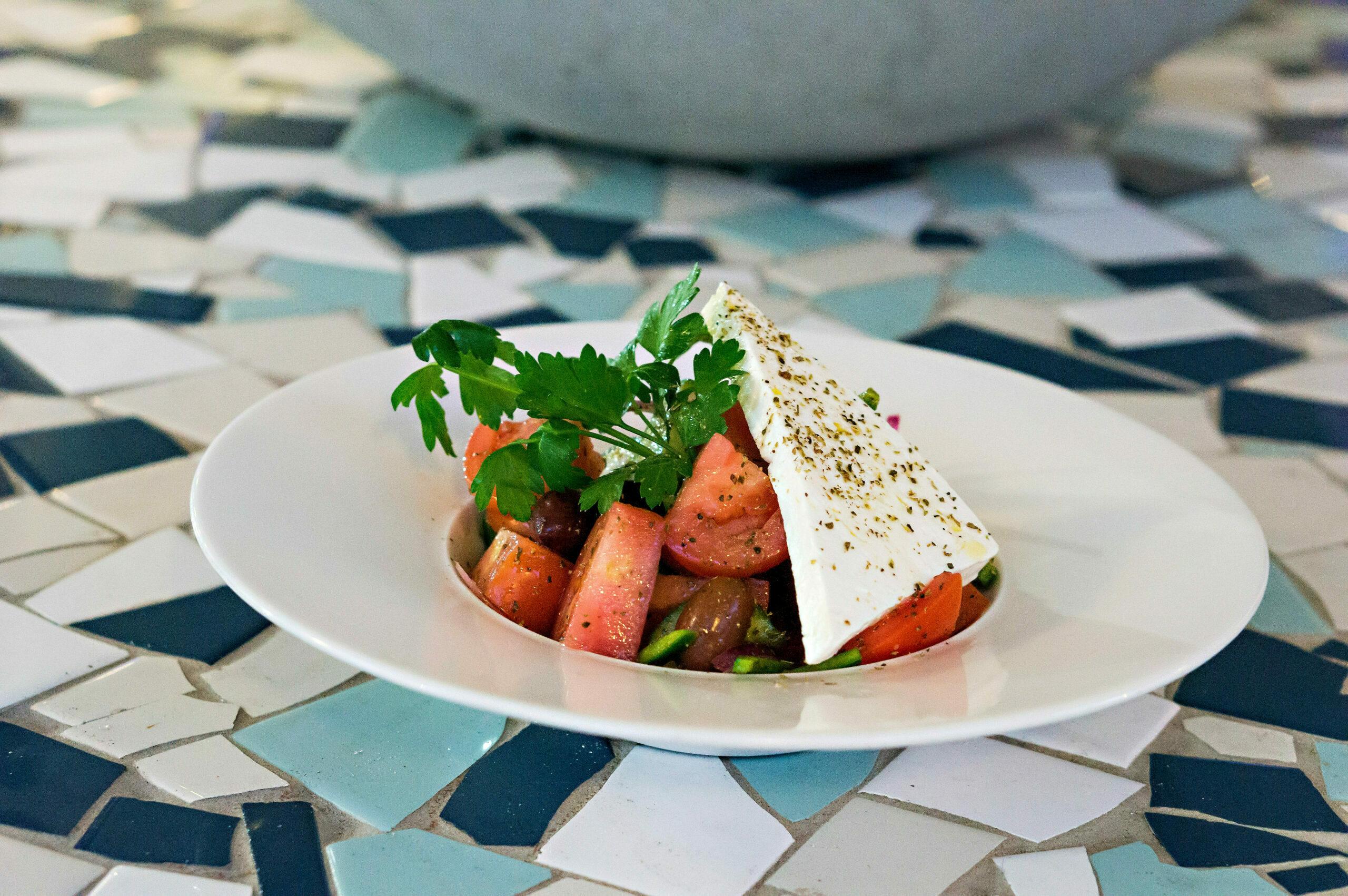 Selected Field Ripe Tomato Salad - Barrel Aged Dodonis Feta